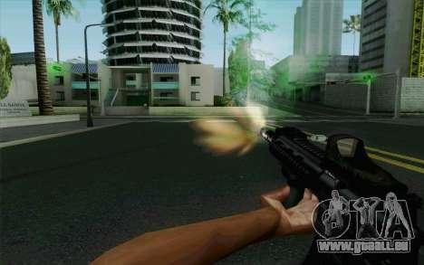 MK107 PDW für GTA San Andreas fünften Screenshot