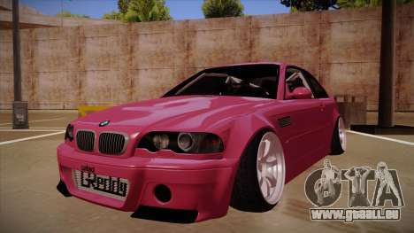 BMW M3 E46 Stance für GTA San Andreas