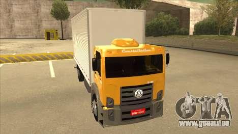 Volkswagen Constellation 13.180 pour GTA San Andreas laissé vue