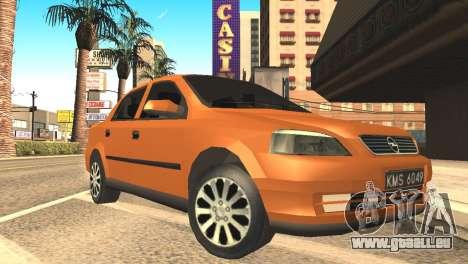 Opel Astra 1.6 TDi SEDAN pour GTA San Andreas