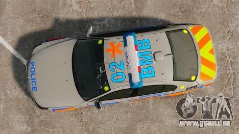 BMW M5 E60 Metropolitan Police 2006 ARV [ELS] pour GTA 4 est un droit