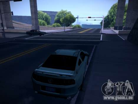ENB by DjBeast for SA:MP Light Version für GTA San Andreas fünften Screenshot