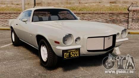 Chevrolet Camaro Z28 1970 pour GTA 4
