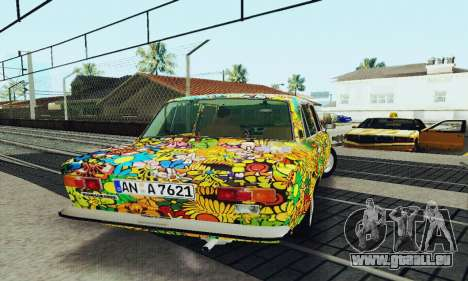 VAZ 21011 Hippie für GTA San Andreas Seitenansicht