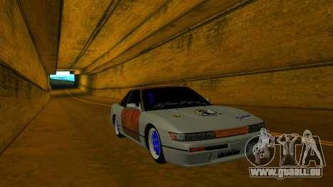 Nissan Silvia S13 MGDT für GTA San Andreas Rückansicht