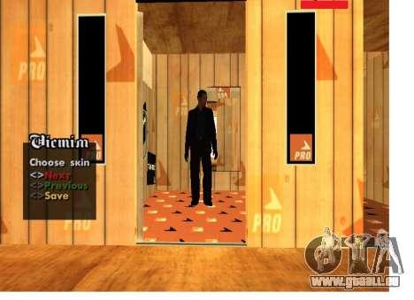 La peau de la mafia russe Pack pour GTA San Andreas deuxième écran
