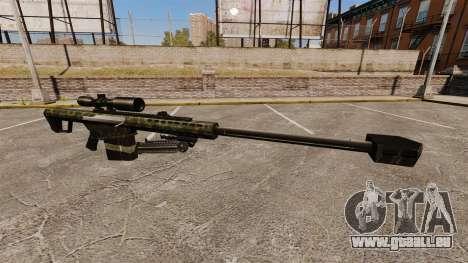 Die Barrett M82 Sniper Gewehr v7 für GTA 4