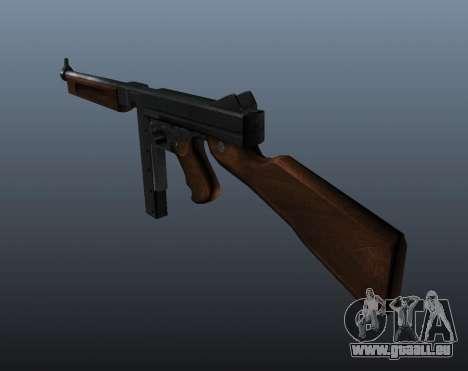 M1a1 Thompson submachine gun v2 pour GTA 4 secondes d'écran