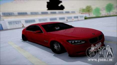 BMW 750 Li Vip Style für GTA San Andreas Innenansicht
