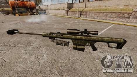 Die Barrett M82 Sniper Gewehr v7 für GTA 4 dritte Screenshot