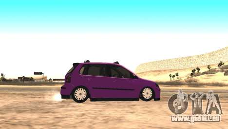 Volkswagen German Polo für GTA San Andreas linke Ansicht
