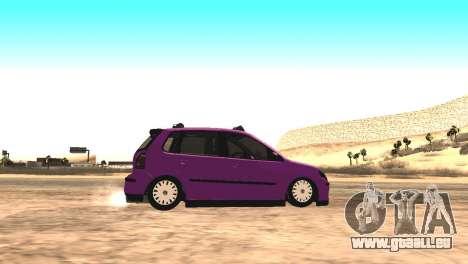 Volkswagen German Polo pour GTA San Andreas laissé vue