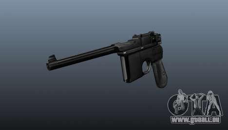 Mauser Pistol v2 für GTA 4