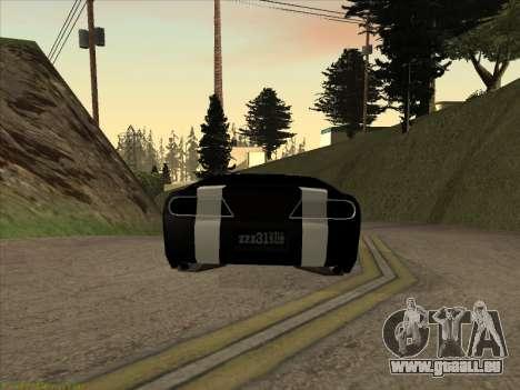 New Jester pour GTA San Andreas laissé vue