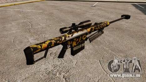 Das Barrett M82 Sniper Gewehr v11 für GTA 4 Sekunden Bildschirm