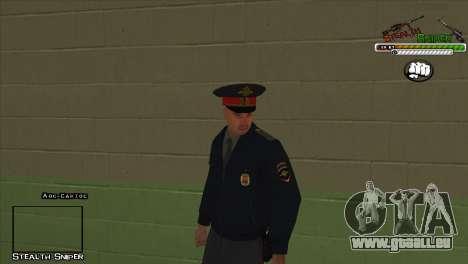 SAPD Pak skins für GTA San Andreas elften Screenshot