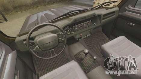 UAZ-315195 Hunter für GTA 4 Innenansicht