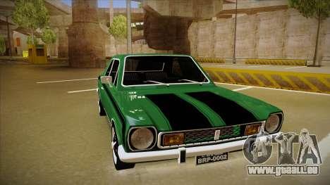 Ford Corcel GT 1975 pour GTA San Andreas laissé vue