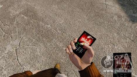 Thèmes pour les boissons de marques de téléphone pour GTA 4