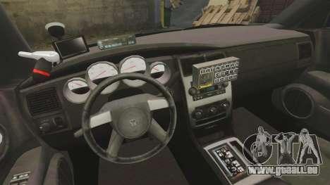 Dodge Charger 2008 LCPD Slicktop [ELS] pour GTA 4 Vue arrière