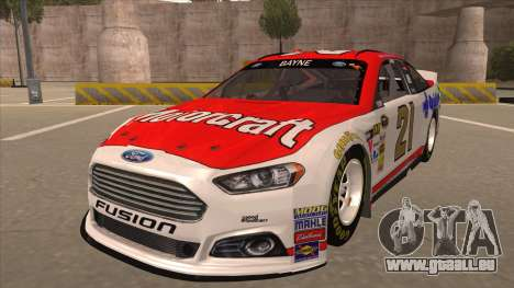 Ford Fusion NASCAR No. 21 Motorcraft Quick Lane für GTA San Andreas