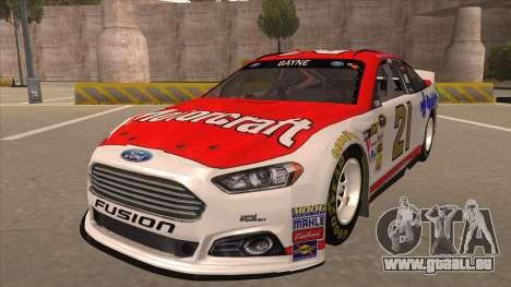 Ford Fusion NASCAR No. 21 Motorcraft Quick Lane pour GTA San Andreas