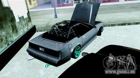 Buffalo Drift pour GTA San Andreas sur la vue arrière gauche