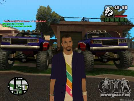 New Andre pour GTA San Andreas