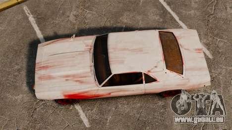 Neue Farbgebung für rostige Vigero für GTA 4 rechte Ansicht