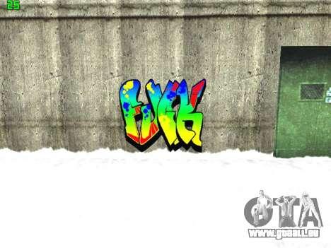 Graffity mod für GTA San Andreas achten Screenshot