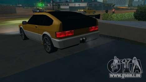 New Blista Compact pour GTA San Andreas laissé vue