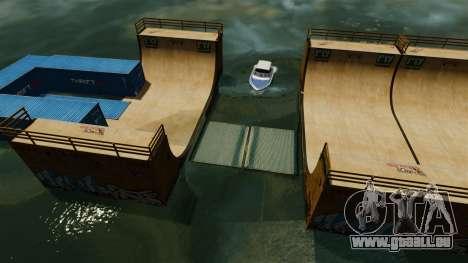 Drehbrücke für GTA 4 Sekunden Bildschirm
