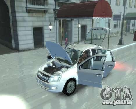 Lada Granta Hatch - VAZ 2191 für GTA 4 hinten links Ansicht