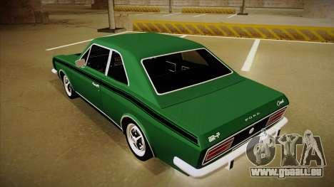 Ford Corcel GT 1975 pour GTA San Andreas vue arrière
