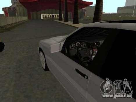 Mercedes-Benz W140 S600 pour GTA San Andreas vue de droite