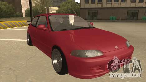Honda Civic EG6 Camber pour GTA San Andreas laissé vue