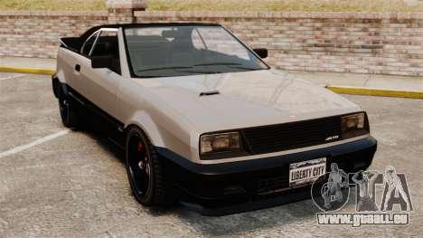 La version cabriolet de la Blista pour GTA 4