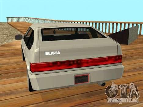 Blista Compact pour GTA San Andreas laissé vue