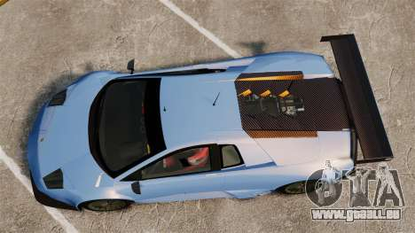 Lamborghini Murcielago RSV FIA GT1 v3.0 für GTA 4 rechte Ansicht