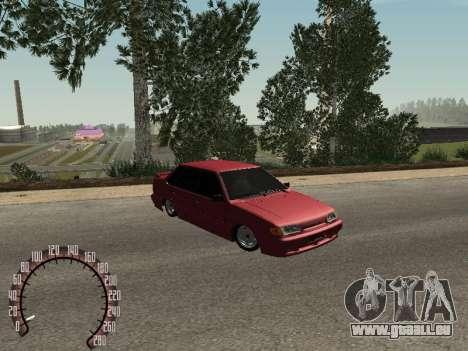 BPAN VAZ 2115 pour GTA San Andreas laissé vue