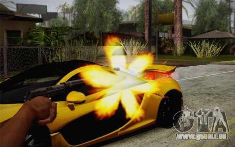 USP45 mit Schalldämpfer für GTA San Andreas dritten Screenshot