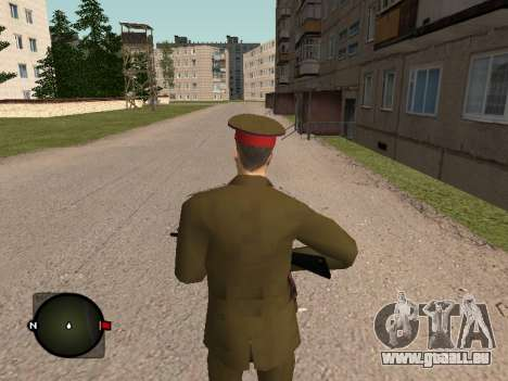 Major General der russischen Armee für GTA San Andreas dritten Screenshot