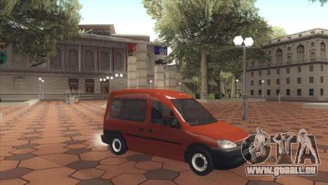Opel Combo für GTA San Andreas linke Ansicht