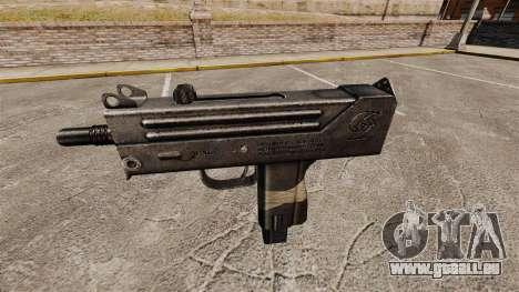 Maschinenpistole Ingram MAC-10 für GTA 4 dritte Screenshot