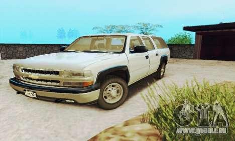 Chevrolet Suburban SAPD FBI pour GTA San Andreas