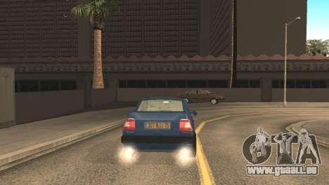 Fiat Tempra 1990 für GTA San Andreas zurück linke Ansicht