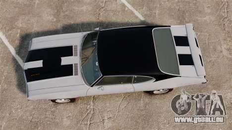 Oldsmobile Cutlass Hurst 442 1969 v2 pour GTA 4 est un droit