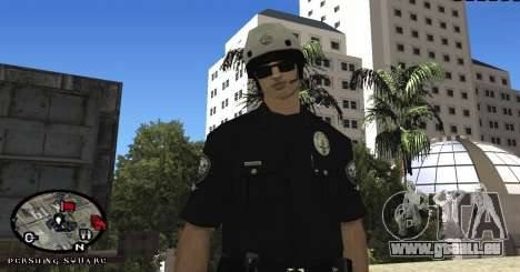 Los Angeles Air Support Division Pilot für GTA San Andreas her Screenshot