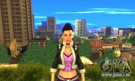 Shaundi From Saints Row Third für GTA San Andreas dritten Screenshot