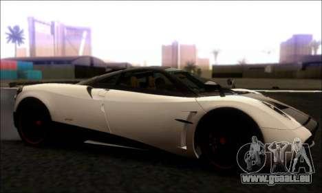 Pagani Huayra Cinque pour GTA San Andreas laissé vue
